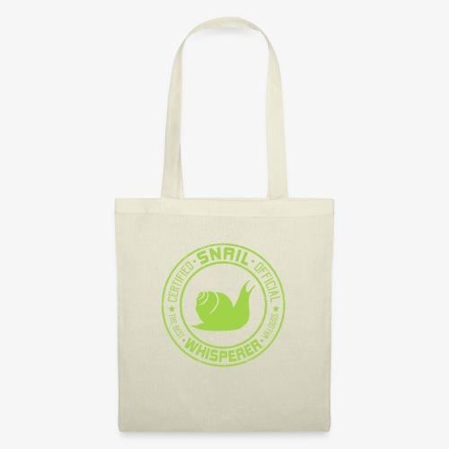 Snail Whisperer Green - Kangaskassi