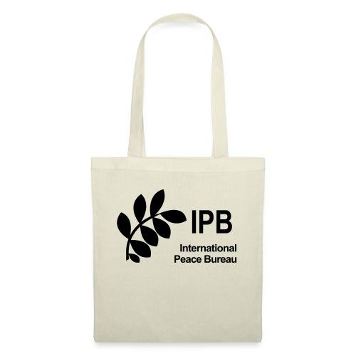 International Peace Bureau IPB Logo black - Tote Bag
