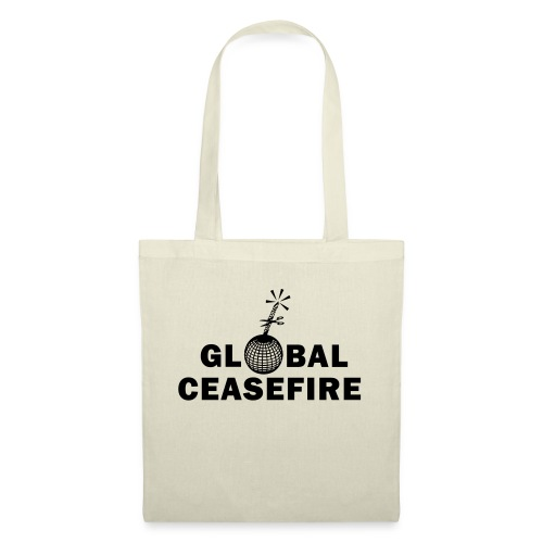 global ceasefire - Tote Bag