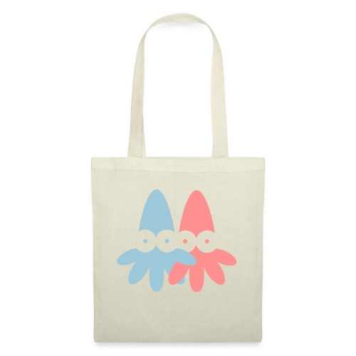 2 Squids Vector - choose design colours - Tote Bag