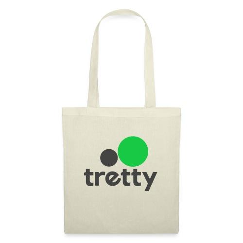 Tretty Logo ohne Subline - Stoffbeutel