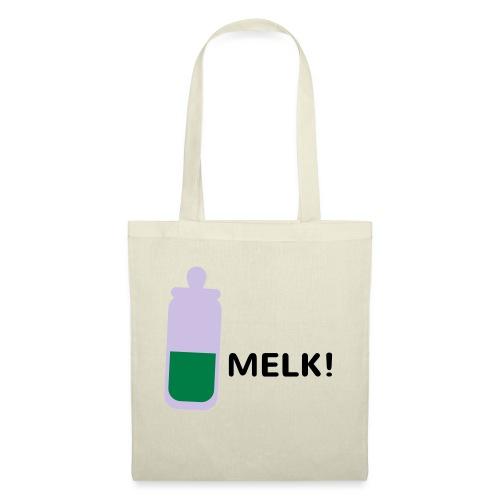 Grappige Rompertjes: Melk - Tas van stof