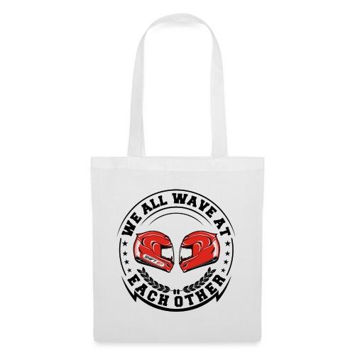 WE ALL WAVE - NOIR - Tote Bag