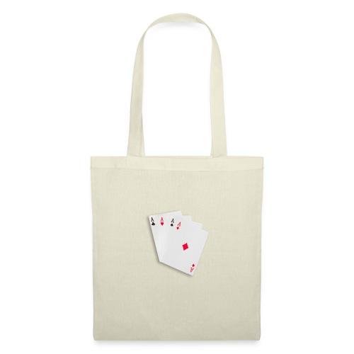 Poker cards - Borsa di stoffa