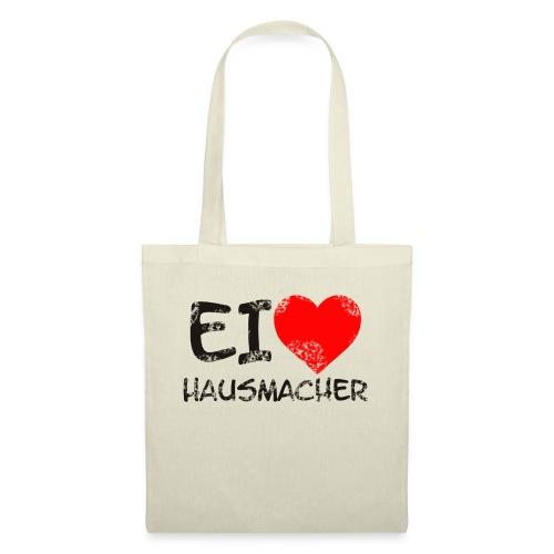 I Love Hausmacher - Stoffbeutel