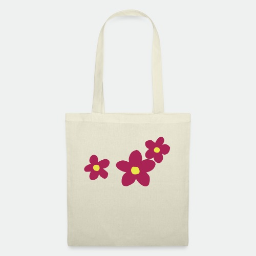 Three Flowers - Tote Bag