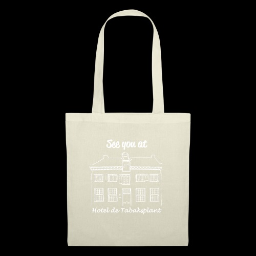 See you at Hotel de Tabaksplant WHITE - Tote Bag
