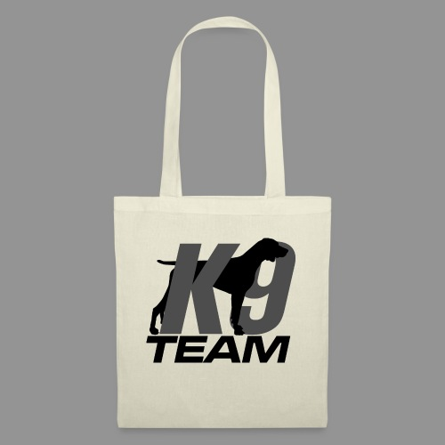 K-9 Team - German Shorthaired Pointer - Tote Bag