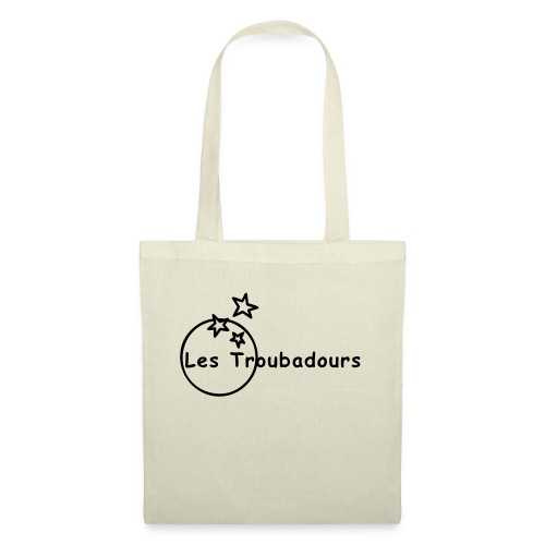 Logo LES TROUBADOURS - Sac en tissu
