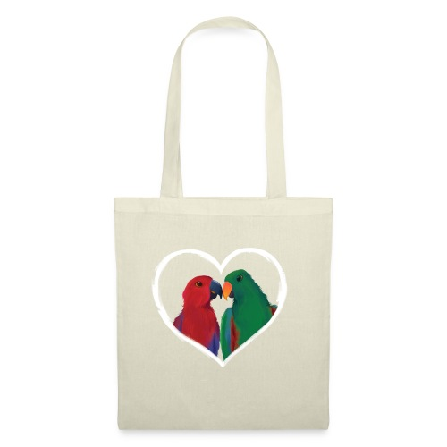parrots heart - Tote Bag