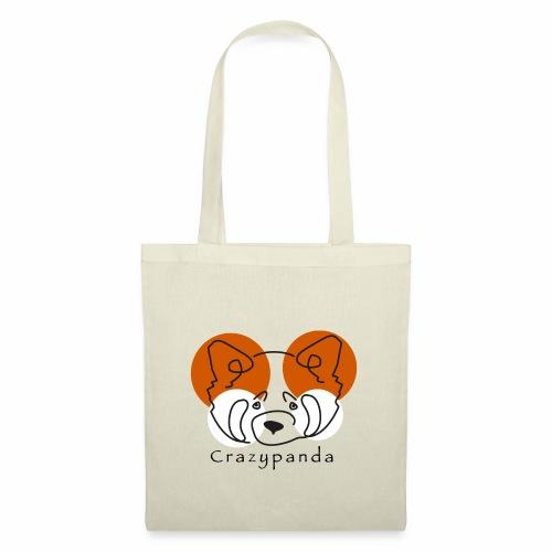 Crazypanda - Tote Bag