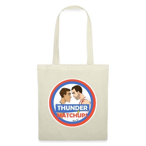 Thunder Matchups Logo - Borsa di stoffa