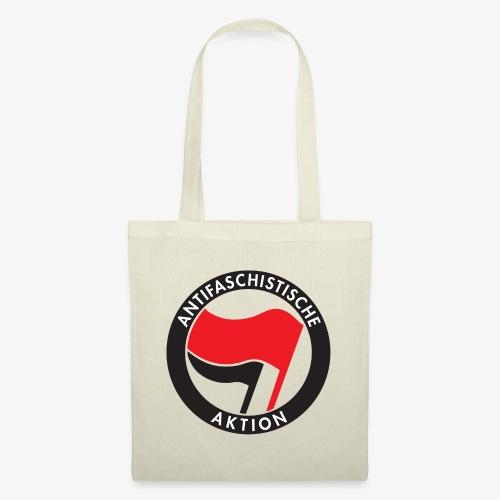 Atnifaschistische Action - Antifa Logo - Tote Bag