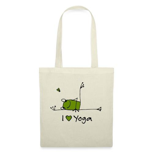 Frieda - I love Yoga - Stoffbeutel