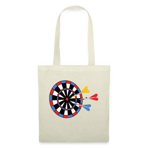 Dartboard with Darts - Tas van stof