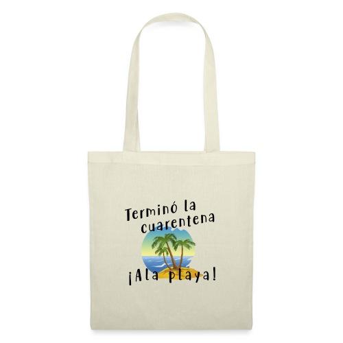 Vamos a la playa - Bolsa de tela
