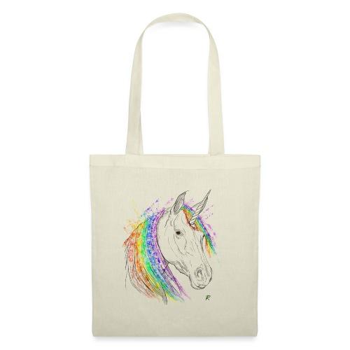 Unicorno - Borsa di stoffa