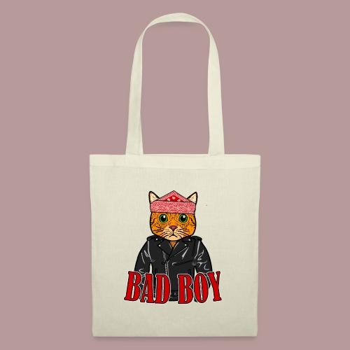 Bad boy chat roux rockeur - Sac en tissu