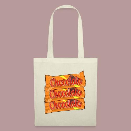 Chocolala barre chocolatée - Sac en tissu
