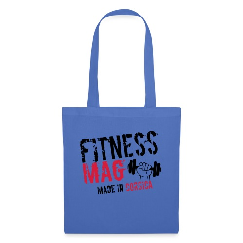 Fitness Mag made in corsica 100% Polyester - Tote Bag
