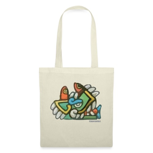 Aztec Crocodile - Tote Bag