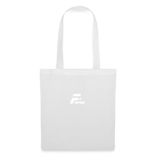 FitNation White - Bolsa de tela