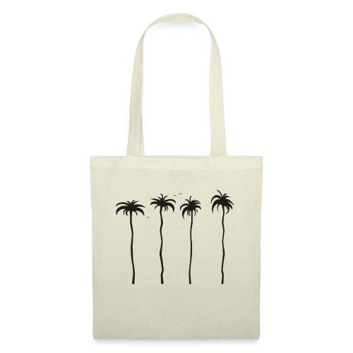 tropische Palmen - Stoffbeutel
