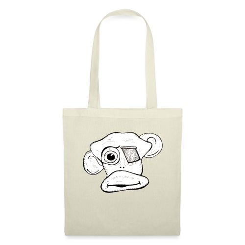 Monkey Face - Tote Bag