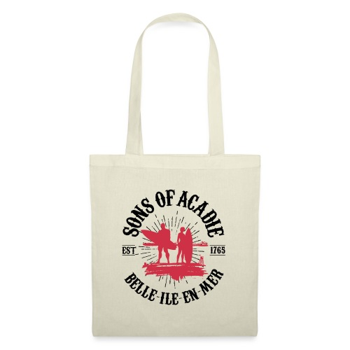 SONS OF ACADIE SURFEURS ROUGE - Tote Bag
