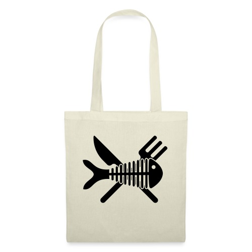 Poisson couvert - Tote Bag