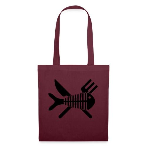 Poisson couvert - Tote Bag