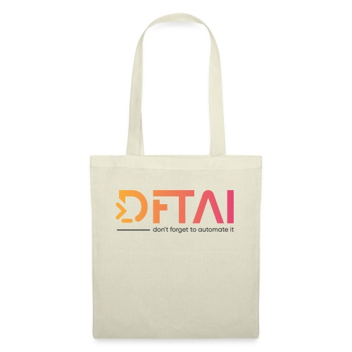 DFTAI Logo - Stoffbeutel