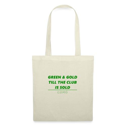 Green & Gold - United - Stoffbeutel