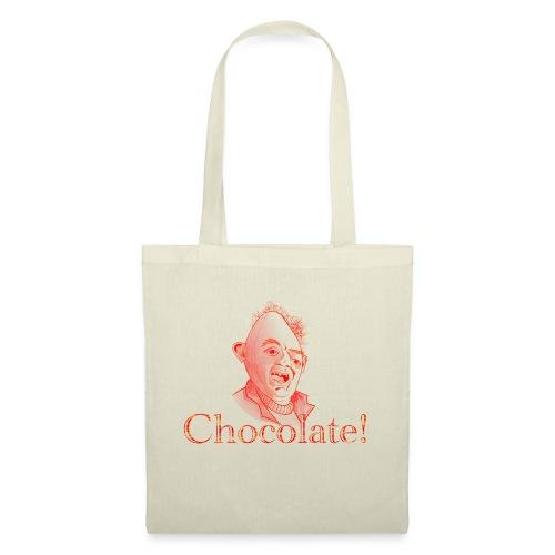 Sloth loves Chocolate - Sloth liebt Schokolade - Stoffbeutel