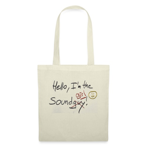 Hello I'm the sound girl - Tote Bag