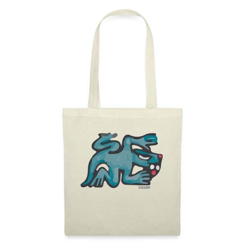 Aztec Lizard/Net - Tote Bag