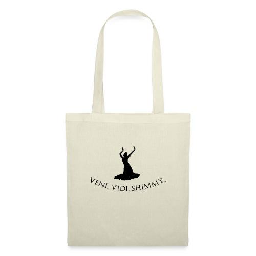 Veni Vidi Shimmy Black - Tote Bag