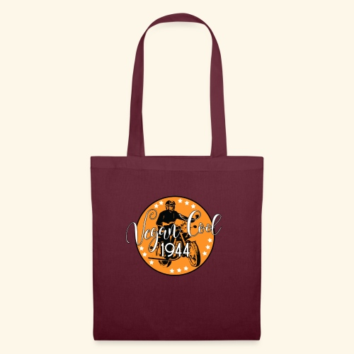 Vegan Cool Vintage Bike Club - Tote Bag
