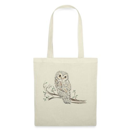 owl stevanka eule - Stoffbeutel