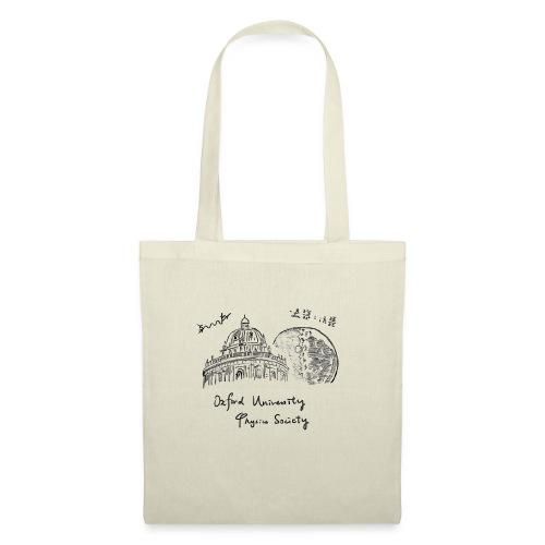 Oxford & Moon (Dark on White) - Tote Bag