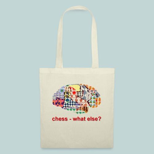 chess_what_else - Stoffbeutel