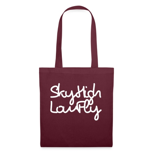 SkyHighLowFly - Men's Sweater - White - Tote Bag
