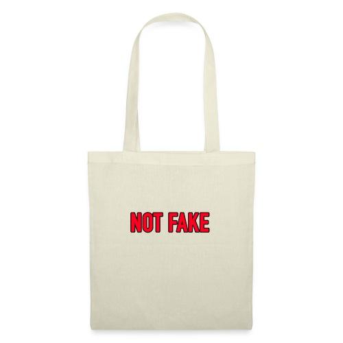 Not Fake - Stoffbeutel