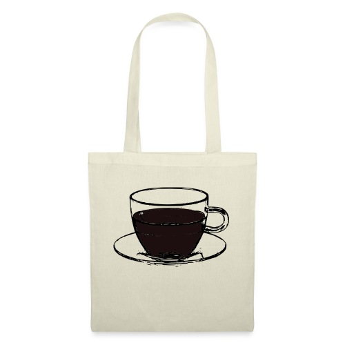 cofee cup - Borsa di stoffa