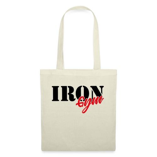iron gym logo black - Bolsa de tela