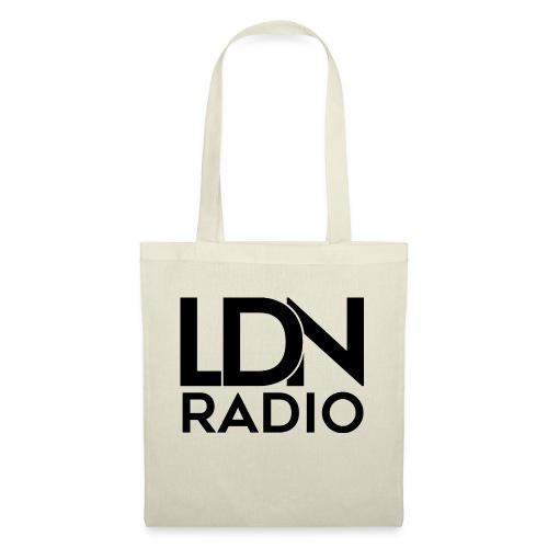 LDN Radio Logo black - Tote Bag