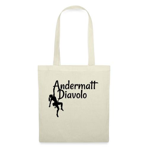Andermatt Diavolo Uri Geschenkidee - Stoffbeutel