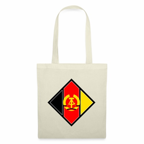 DDR coat of arms stylized - Tote Bag