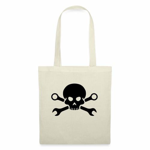 Skull'n'Tools Pirate Skull - Tote Bag