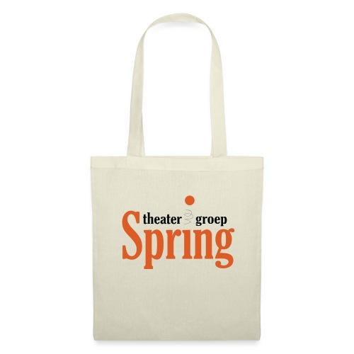 T-shirt met logo Theatergroep Spring | Unisex - Tas van stof